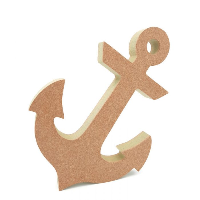 freestanding anchor shape